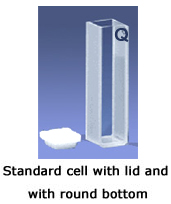 Q Standard Cell with Lid and Round Bottom